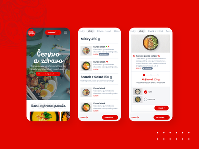 Hello Hungry - restaurant web ordering system hellohungry food red restaurant system ordering design webdesign web website ux ui