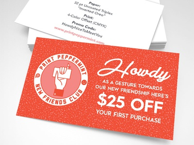 $25 Off Coupon Pinky Swear money coupon friends howdy hands pinky