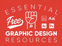 Essential Free Graphic Design Resources Post