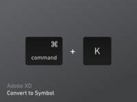 XD - Convert To Symbol