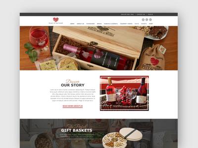 Heart of the Desert - Website Design