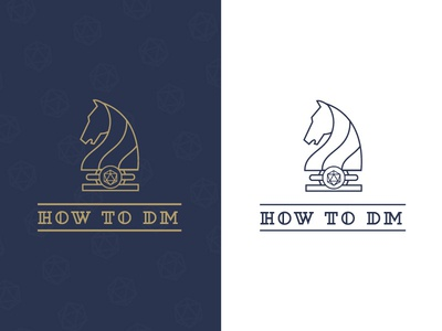 How to DM - Logo Design