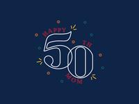 Happy 50th Mom