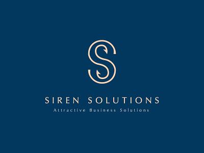 Siren Solutions - Logo and Branding hooks marketing logo business solutions s logo logo marketing siren solutions