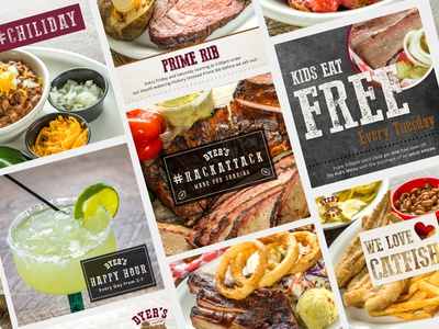 Dyer's BBQ Social Media & Online Advertising