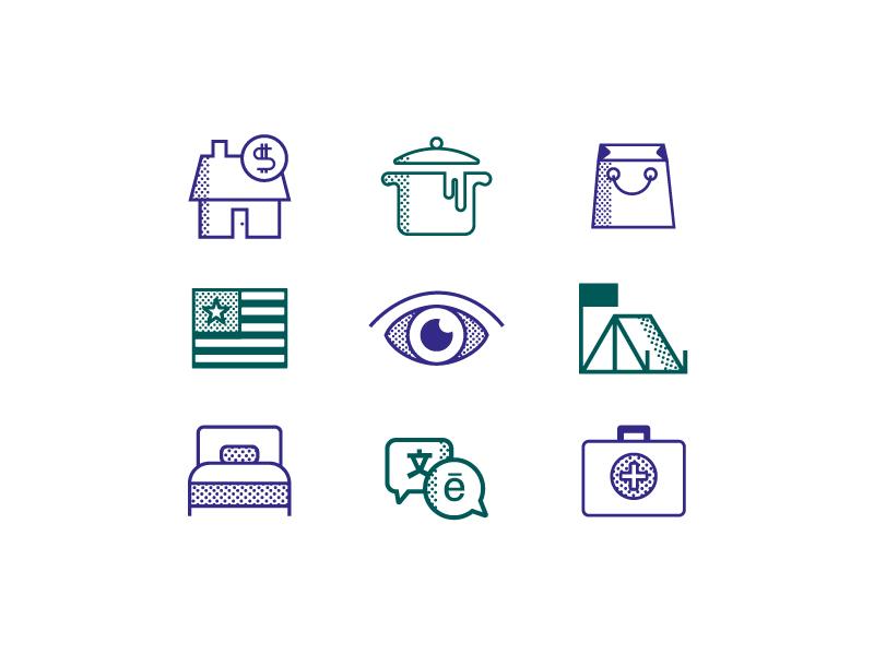 Nonprofit Icons green purple dot icons iconset icons nonprofit