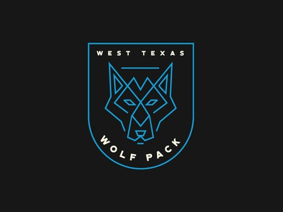 West Texas Wolfpack Logo