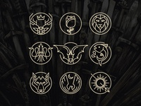 Game of Thrones Icons