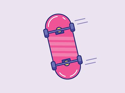 Inktober Day 20   Tread line color design illustrator icon design icon vectober skateboard skate inktober tread