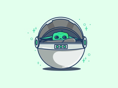 Love me you must star wars disney jedi master jedi alien space yoda baby baby cute illustration icon fan art character starwars mandalorian yoda baby yoda