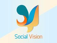Logo Design Social Vision