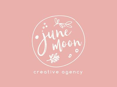 June Moon Creative Agency | Logo ui branding design logo