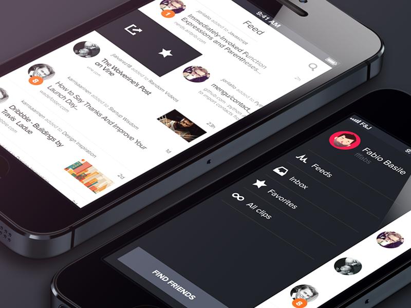 Kipppppt [.sketch] sketch app ios bohemian iphone giveaway download free kippt design mobile sketchapp
