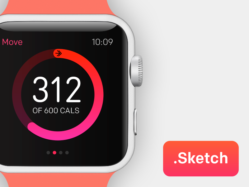 Apple WATCH sketch giveaway source apple watch red ios