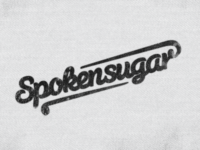 Spokensugar cloth