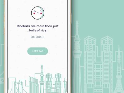Mr Moshi 🇯🇵 mikleo japan fffabs iphone clean illustrations design app ios