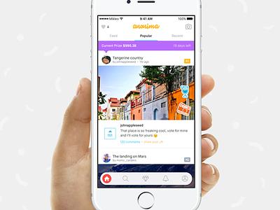 anonima hire clean design mikleo fff app ios social