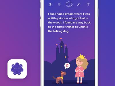 Princess Vossier education machine learning chatbots manchester uk mikleo fff illustration design ux ui ios