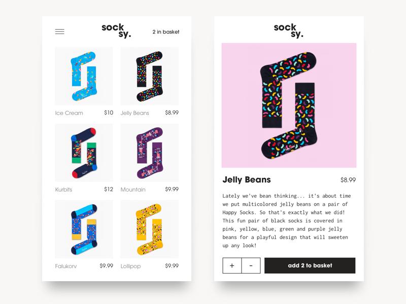 Socksy 👟 mikleo fff colors happy socks purchase ecommerce shop sale