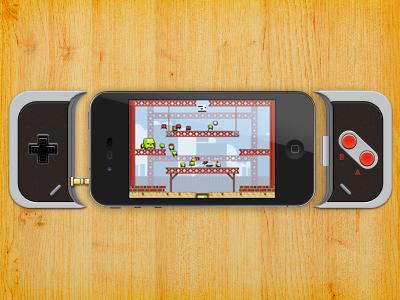 iPhone gaming controller iphone controller ios joypad joystick nes snes retro plug