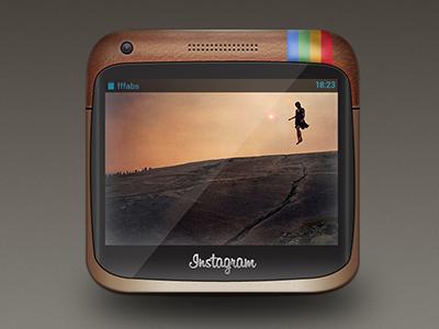 Instagram Hardware instagram hardware design shot mockup