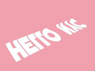 Hello NYC 🇺🇸 new york nyc studio for hire animaton teaching giveaway cinema 4d fffabs usa clean kinetic kinetic typography kinetic type typography