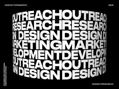 Fortnight Services fortnight threejs webgl website font 3d artist cinema app cinema 4d 3d art 3d kinetic kinetic typography kinetic type type design typographic design typography type art type ux ui