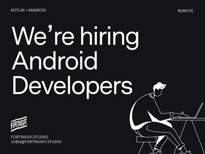 🤖We're hiring Android developers
