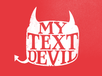 My Text Devil - reworked text
