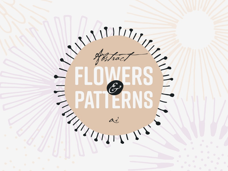 Abstract Flowers and Patterns