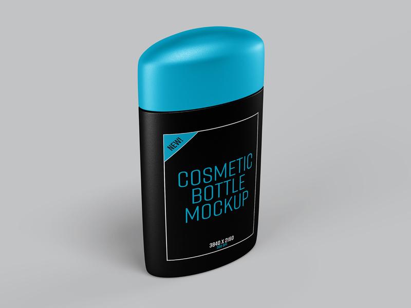Cosmetic Bottle Photoshop Mockup