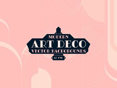 Modern Art Deco Vector Backgrounds art deco backgrounds illustration vector