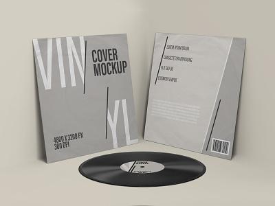 Vinyl Record Cover Mockups vinyl record vinyl cover mockup photoshop