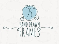 25 Hand Drawn Frames