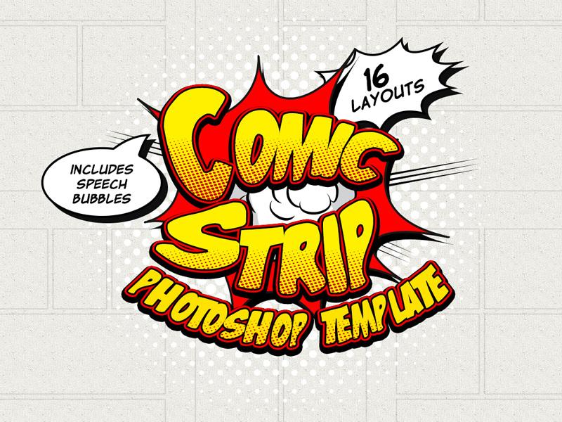 Comic Strip Template By Diego Sanchez Dribbble Dribbble