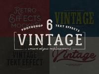 Vintage Text Mockup