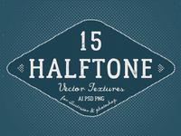 15 Vector Halftone Textures