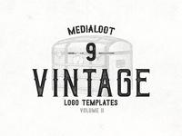 Vintage Logo Templates - volume 2