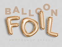 Balloon Foil Effect