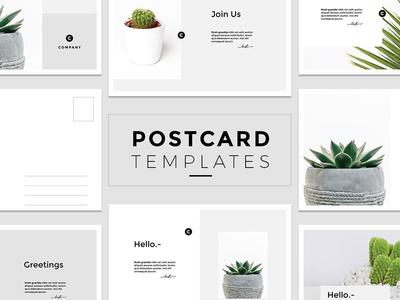 Minimal Postcard Templates photoshop mockup places travel invitation template promotional mockup postcard
