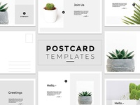 Minimal Postcard Templates