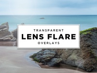 Transparent Lens Flare Overlays
