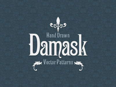 Hand Drawn Damask Vector Patterns damask design vector damask vector patterns damask patterns barroque flourishes wallpaper damask