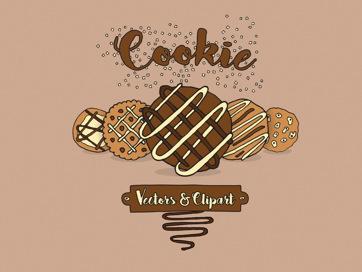 Cookie Vectors & Clipart chocolate chip donut baking cake chocolate cookies cookie clipart