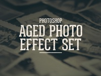 Aged/Old Photo Effect Set
