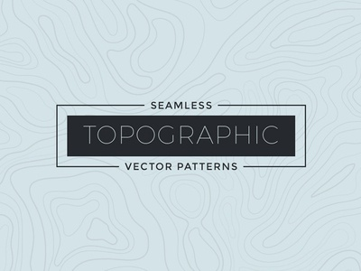Seamless Topographic Patterns