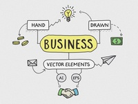 Hand Drawn Business Elements