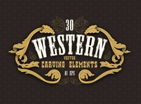 Western Carving Elements