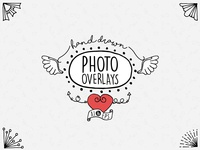 Hand Drawn Photo Overlays