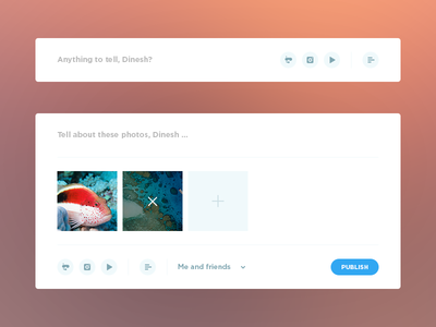 Anithing to tell, Dribbble?